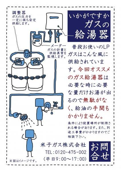 新しい給湯器で節約&効率up! ...